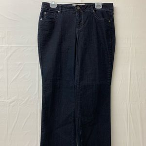 Faded Glory bootcut stretch denim jeans 12P